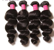 Loose Wave Brazilian Virgin Hair , 100% Human Hair