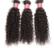 Jerry Curl Brazilian Curly Virgin Hair , 100% Human Hair