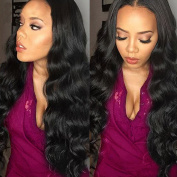 Belinda Hair Brazilian Body Wave Virgin Hair 3 Bundles Grade 7A Unprocessed Human Hair Weave Hair Extensions Natural Colour 95-100g/pc