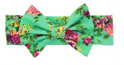LSQtronics .  baby cute Cotton Headbands Head Band Headwrap Ear Warmer for Kids Girls Toddlers,green