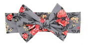 LSQtronics .  baby cute Cotton Headbands Head Band Headwrap Ear Warmer for Kids Girls Toddlers ,grey