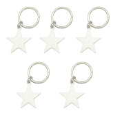 Q & Q Fashion 5x Fab Shooting Star Hoop Bead Mambo Dreadlock Dreads Updo Hair Pin Dress Clip