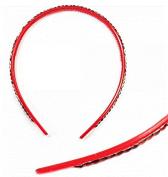 Charming Diamond Hoop Hair Red by Ozone48