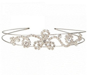 Exquisite Rhinestone Wedding Bridal Crown Headband 04 by Ozone48