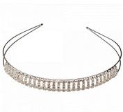 Vertical Bar Style Rhinestone Wedding Bridal Crown Headband 06 by Ozone48