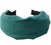 New Simple . Cloth Girl Hair Band Headband Green by Ozone48