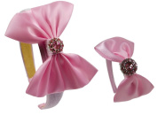 Girls Princess Inspired Dolly and Me Costume Headband Gift Set - Fits 38cm and 46cm Dolls