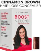 BOOSTnBLEND Warm Cinnamon Brown Hair Loss Concealer