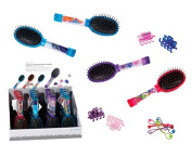 GBP INTERNATIONAL Novelty Hairbrush With Accessories In The Handle Assorted Designs Ideal Christmas Gift Birthday Present