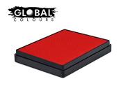 Global Body Art Water Based Face Paint - Standard Red 50gr