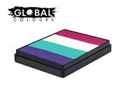 Global Body Art Face Paint - Rainbow Cake Provence 50gr