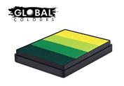 Global Body Art Face Paint - Rainbow Cake Everglades 50gr