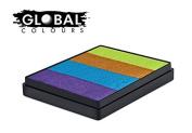 Global Body Art Face Paint - Rainbow Cake French Quarter 50gr