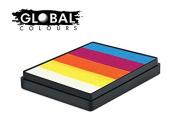 Global Body Art Face Paint - Rainbow Cake Maui 50gr