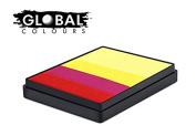 Global Body Art Face Paint - Rainbow Cake Spain 50gr