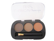 Eyebrow Powder Makeup Kit- 3 Colours and Brush
