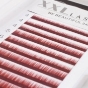 Eyebrows Eyelashes Colour red/brown