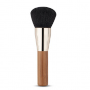 CINEEN Round Brush Bamboo Handle Large Multi-function Universal Carbonised Bamboo Blusher Brush Foundation Brush Makeup Brush