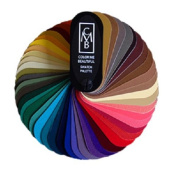 Colour Me Beautiful 3 SEASONAL SWATCH FANS
