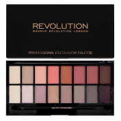Makeup Revolution New-Trals vs Neutrals Eye Shadow Palette With Mirror And Applicator 15ml