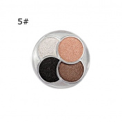 Biutee Professional 4 Colours Fashion Glitter Eyeshadow Palette Natural Cosmetics Naked Makeup Dimond Shining Eye Shadow
