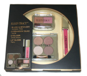 Ellen Tracy Cosmetic Collection - Eyeliner, Lip Gloss, Eyeshadow and Blush & Bronzer Set