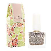 Alloya Natural Non Toxic Nail Polish, Kid Safe, 112 Cinderella's Glass Shoe