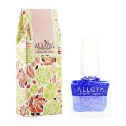 Alloya Natural Non Toxic Nail Polish, Kid Safe, 105 Seabreeze of Summer
