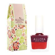 Alloya Natural Non Toxic Nail Polish, Kid Safe, 102 Wild Taste Of Rose