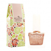 Alloya Natural Non Toxic Nail Polish, Kid Safe, 087 Naked Glistering Beauty