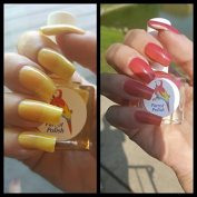 Parrot Polish Yellow Rose