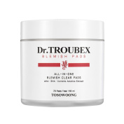 [TOSOWOONG] Dr. Troubex Blemish Pads 155ml 70 Pads / Home Peeling Pimple Pad
