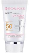 Rojukiss White Poreless UV Aqua Serum SPF 50+ PA+++ Sunscreen 30ml for Face and dark under eyes , UVA/UVB protection