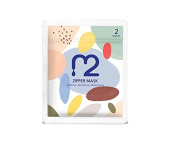 M2 Zipper Mask Pack, Soothing, Nourishing, Moisturising