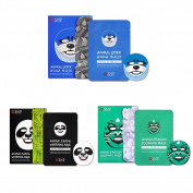 SNP Animal OTTER AQUA Mask *10ea & Animal PANDA Whitenning Mask*10ea & & Animal Dragon Soothing Mask *10ea & Free Gift