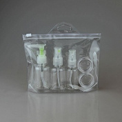 Coshine 5pcs/set Refllable Empty PET Spray Mist Bottles for Travel