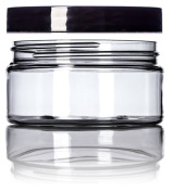 240ml Clear Single Wall PET Plastic Jar