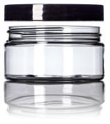 240ml Clear Single Wall PET Plastic Jar