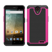For ZTE Prestige N9132,Sunfei Dual Layer Hybrid Shockproof Impact Resist Rugged Shockproof Case Cover
