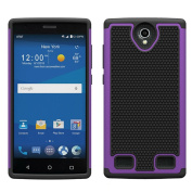 For ZTE Zmax 2 Z958,Sunfei Dual Layer Hybrid Shockproof Impact Resist Rugged Shockproof Case Cover