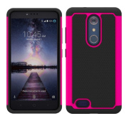 Sunfei Dual Layer Hybrid Shockproof Impact Resist Rugged Shockproof Case Cover for ZTE Z981