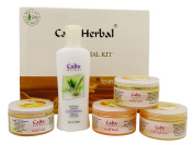 Calix Herbal Ayurvedic Radiance-Ultra Glow Formula Gold Facial Kit - 320ml