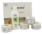 Calix Herbal Nourishing Rejuvenating Formula Pearl Facial Kit - 320ml