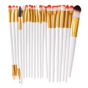 YOY Fashion Makeup Brush Set - Professional Kabuki Brushes Kit Foundation Blending Blush Contour Con