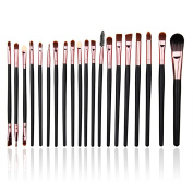 YOY Fashion Makeup Brush Set - Professional Kabuki Brushes Kit Foundation Blending Blush Contour Con
