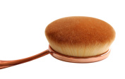 Premium Synthetic Oval Makeup Brush - The Perfect Cosmetic Brush for Your Face Powder and Cream Foundation