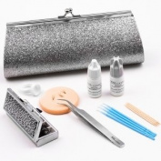 XXL Lashes Glamour High Quality Eyelash Extension Tools Kit Colour silver