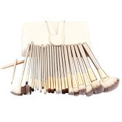 Makeup Brushes,VANDER 24pcs Cosmetics Brushes Set Synthetic Kabuki Professional Brush Kit Cream Contour Face Powder, Foundation, Eyeliner Face Concealer,Eyeshadow, Lip Brushes