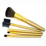 Makeup Brushes,Hatop 5pcs Cosmetic Makeup Brushes Set Blush Lip Brow Eyeshadow Brush