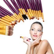 Fashion Gallery 20Pcs Superior Cosmetic Brushes Set Kit Makeup Tool Brushes